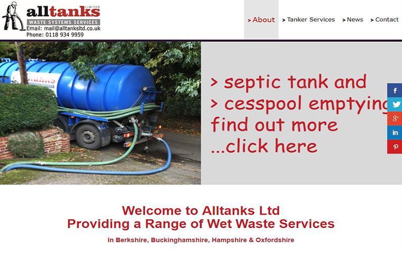 Alltanks Website