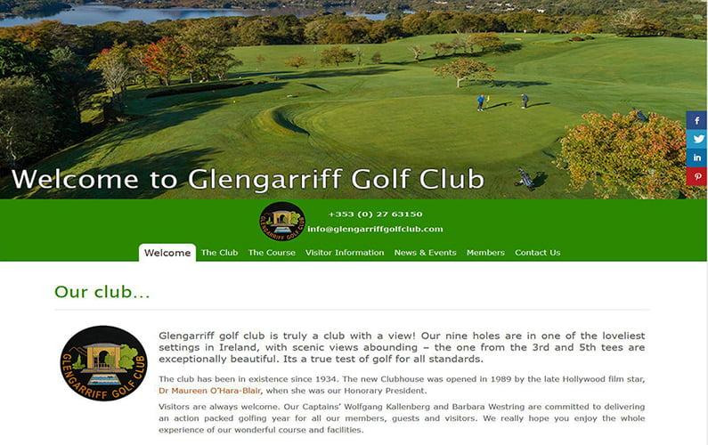 Glengarriff Golf Club Website