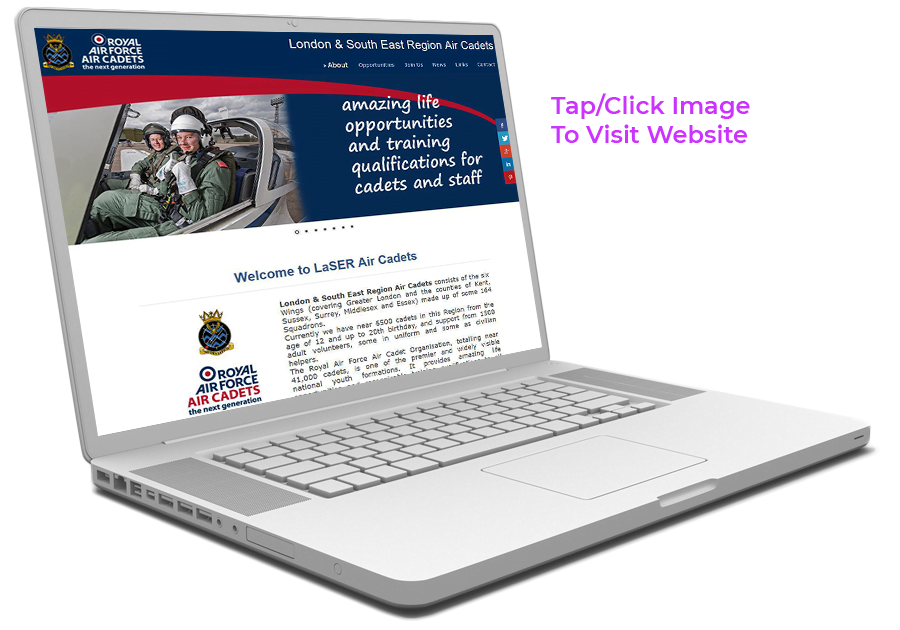 Link to LaSER Air Cadets Website