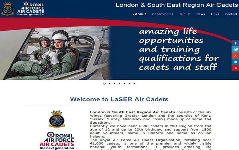 LaSER Air Cadets Website