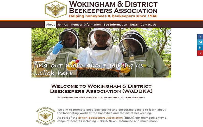 Wokingham & District Beekeepers Website