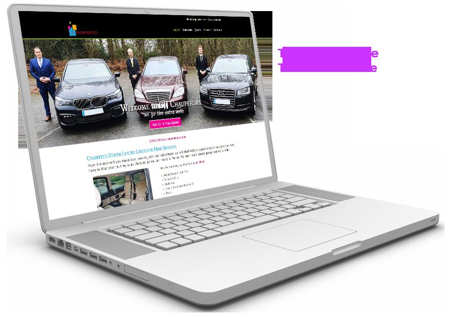 CJJ Chauffeurs Website